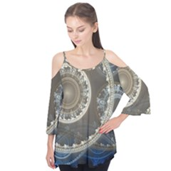 2299 Circles Light Gray 3840x2400 Flutter Tees