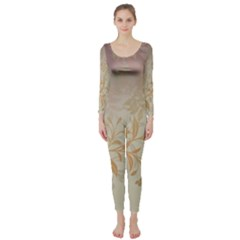 2349 Pattern Background Faded 3840x2400 Long Sleeve Catsuit