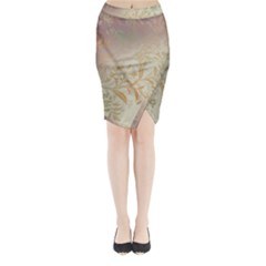 2349 Pattern Background Faded 3840x2400 Midi Wrap Pencil Skirt