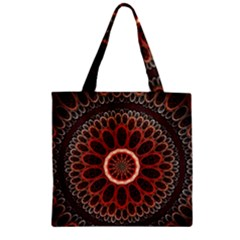 2240 Circles Patterns Backgrounds 3840x2400 Zipper Grocery Tote Bag