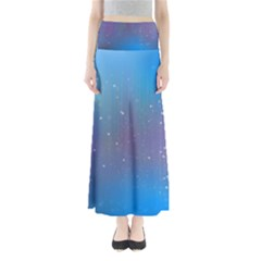2317 Points Lines Background 3840x2400 Full Length Maxi Skirt