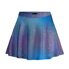 2317 Points Lines Background 3840x2400 Mini Flare Skirt