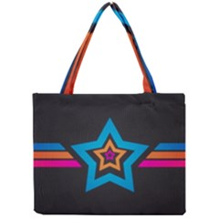 Star Background Colorful  Mini Tote Bag