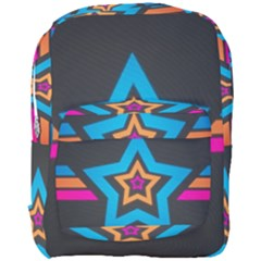 Star Background Colorful  Full Print Backpack