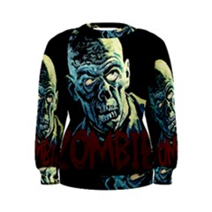 Zombie Women s Sweatshirt