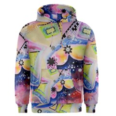 Patterns Colorful Drawing  Men s Pullover Hoodie
