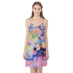 Patterns Colorful Drawing  Camis Nightgown