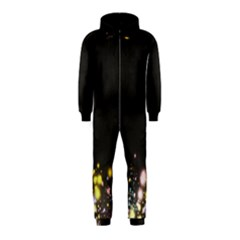 Spots Colorful Bright  Hooded Jumpsuit (kids)