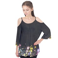 Spots Colorful Bright  Flutter Tees