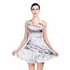 Line Color Background  Reversible Skater Dress