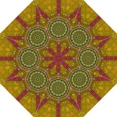 Mandala In Metal And Pearls Straight Umbrellas