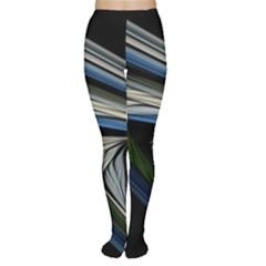 Stripes Waves Bright  Women s Tights