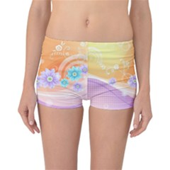 Colors Patterns Lines  Reversible Boyleg Bikini Bottoms