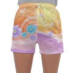 Colors Patterns Lines  Sleepwear Shorts