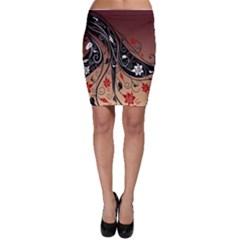 Girl Face Hair  Bodycon Skirt