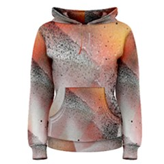 Lines Dots Background  Women s Pullover Hoodie