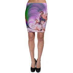 Pattern Background Light  Bodycon Skirt