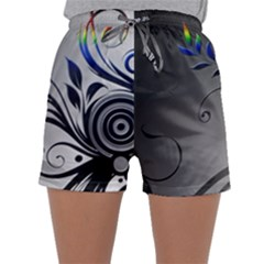 Patterns Lines Colorful  Sleepwear Shorts