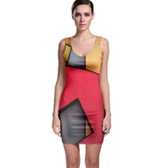 Patterns Lines Surface  Bodycon Dress