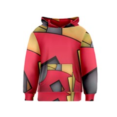 Patterns Lines Surface  Kids  Pullover Hoodie
