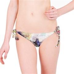Surface Dark Colorful  Bikini Bottom