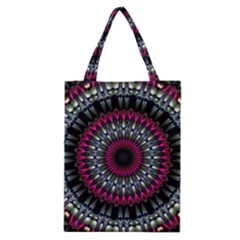 Circles Background Lines  Classic Tote Bag