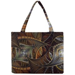 Mosaics Stained Glass Colorful  Mini Tote Bag
