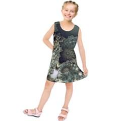 Patterns Background Bright Kids  Tunic Dress