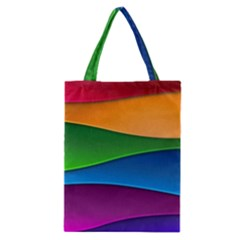 Layers Light Bright  Classic Tote Bag