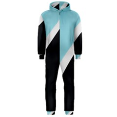 Lines Wavy Strip  Hooded Jumpsuit (men)