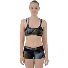 Background Blurred Lines Women s Sports Set