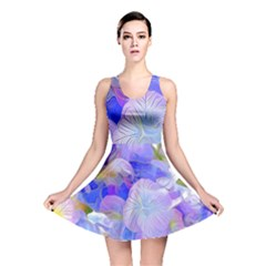 Flowers Abstract Colorful  Reversible Skater Dress