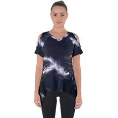 453 Electric Current Metal  Cut Out Side Drop Tee