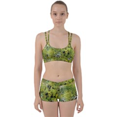 Abstract Spots Lines Women s Sports Set