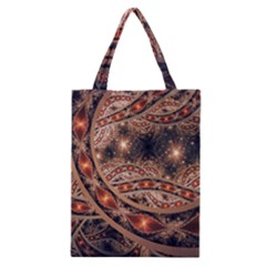 Fractal Patterns Abstract  Classic Tote Bag