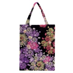 Abstract Patterns Fractal  Classic Tote Bag