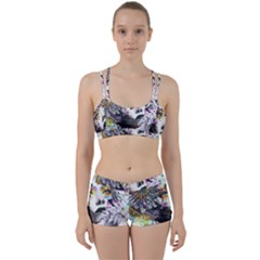 Abstraction Painting Girl  Women s Sports Set