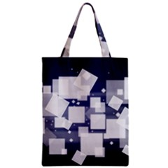 Squares Shapes Many  Zipper Classic Tote Bag