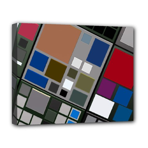 Abstract Composition Deluxe Canvas 20  X 16