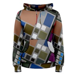 Abstract Composition Women s Pullover Hoodie