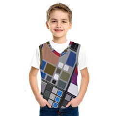 Abstract Composition Kids  Sportswear