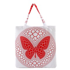 Butterfly Grocery Tote Bag