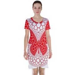 Butterfly Short Sleeve Nightdress