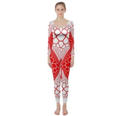 Butterfly Long Sleeve Catsuit