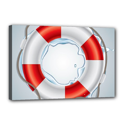 Spare Tire Icon Vector Canvas 18  X 12