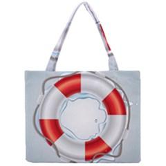 Spare Tire Icon Vector Mini Tote Bag