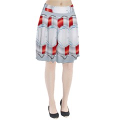 Spare Tire Icon Vector Pleated Skirt