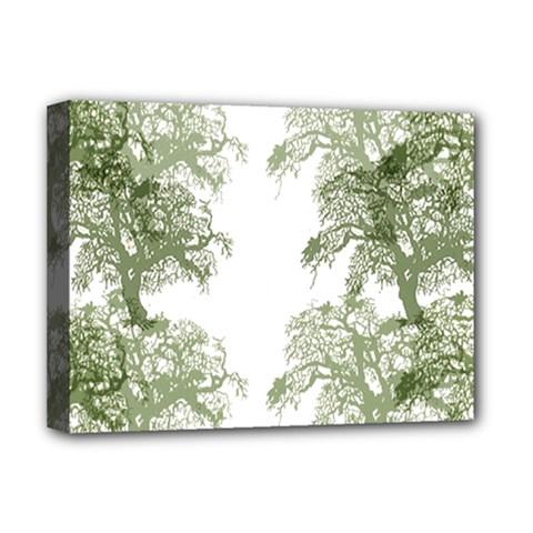 Trees Tile Horizonal Deluxe Canvas 16  X 12
