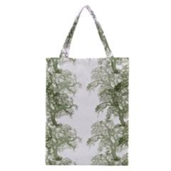 Trees Tile Horizonal Classic Tote Bag