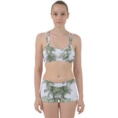 Trees Tile Horizonal Women s Sports Set
